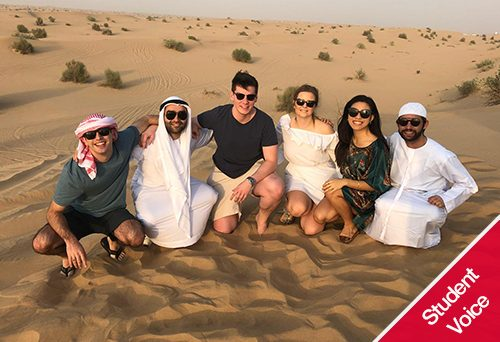Dubai trek