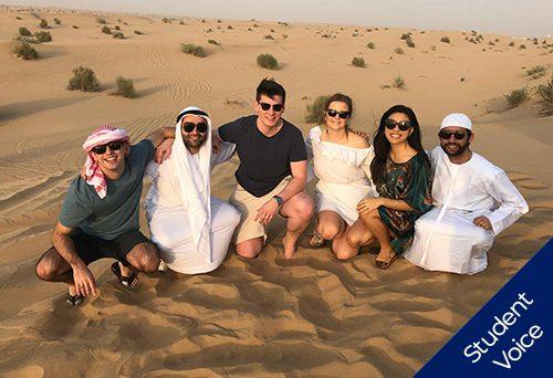 Middle east career trek