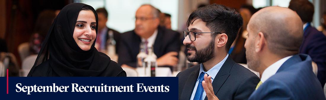 September Recruitment Events