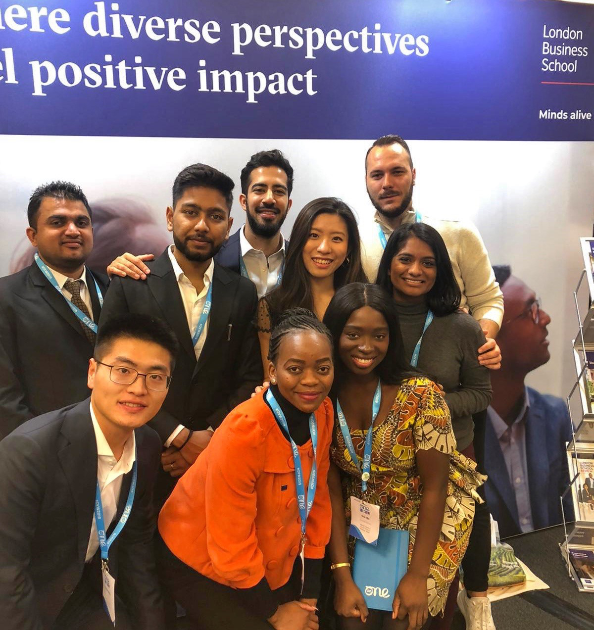 LBS delegates at One Young World