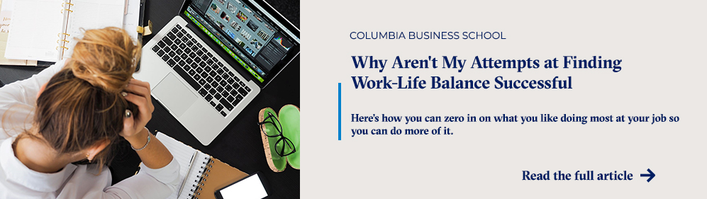 Why Aren't My Attempts at Finding Work-Life Balance Successful