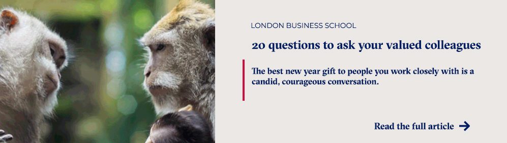 20 questions to ask your valued colleagues
