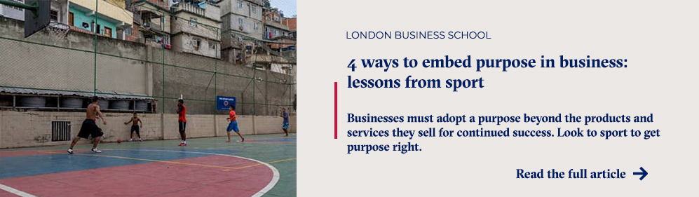 lessons from sport
